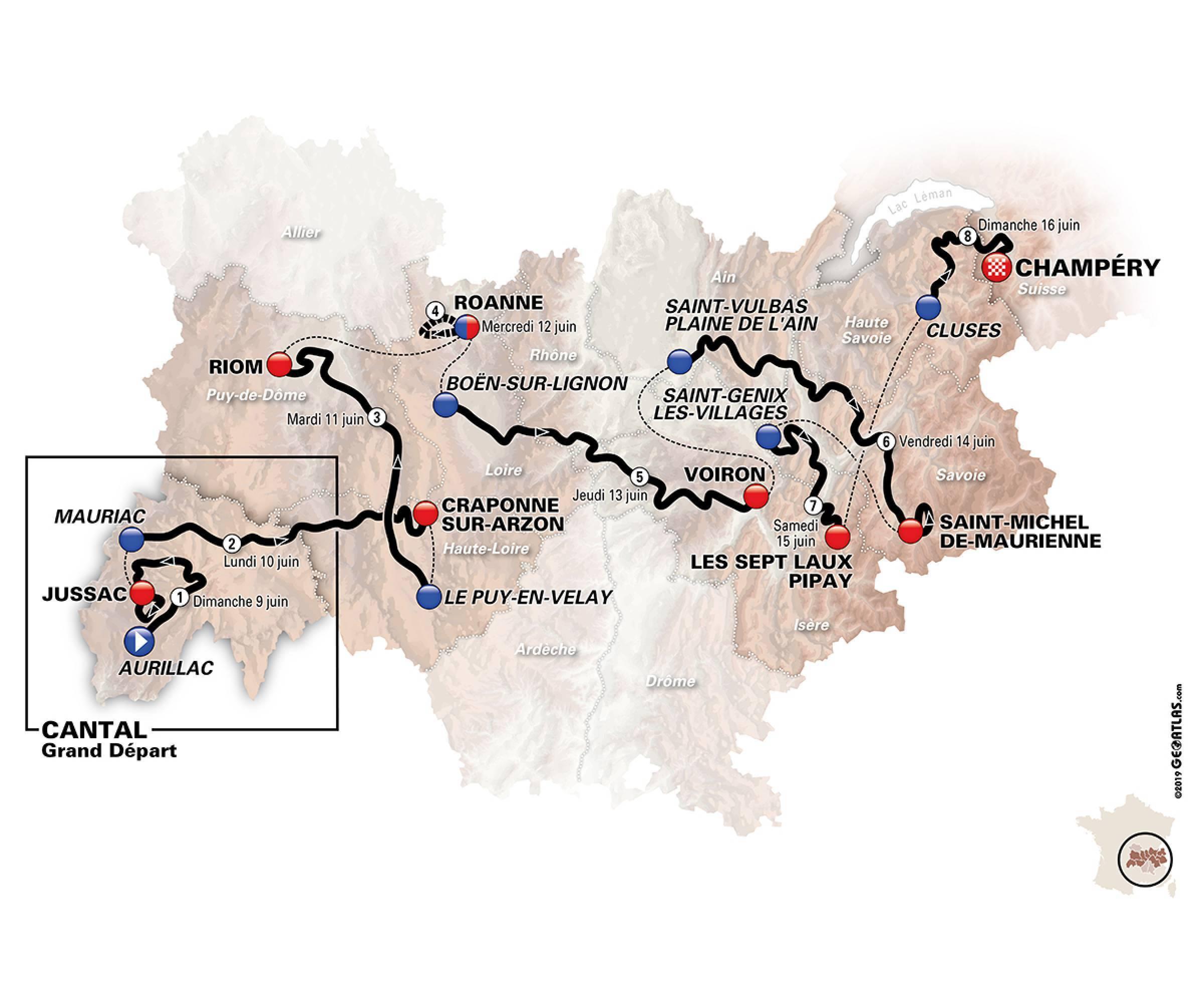 Critérium del Dauphiné 1