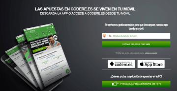 Aplicación móvil de Codere