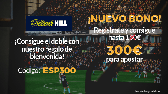 Bonos de William Hill 4