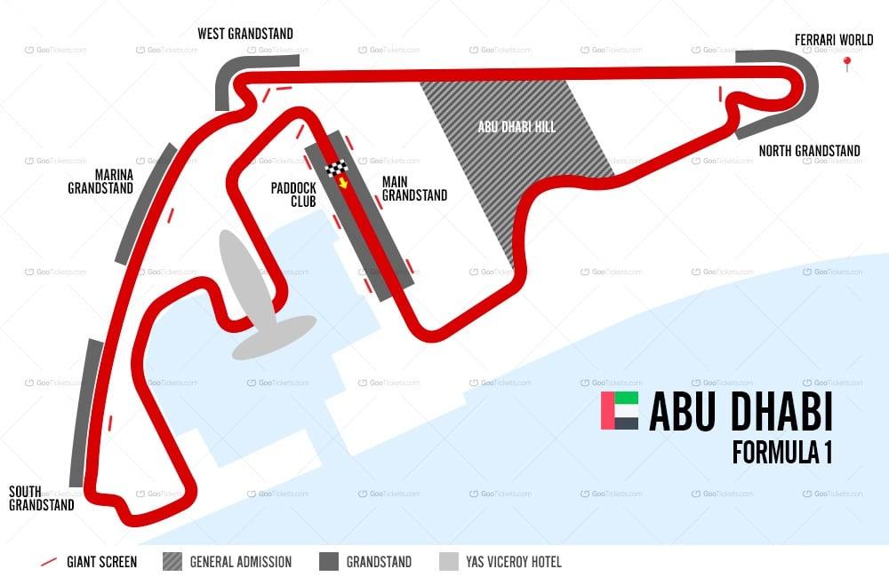 F1 Gran Premio de Abu Dhabi 1