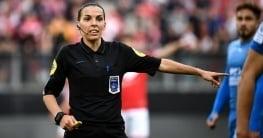 Primera mujer en pitar una final oficial europea