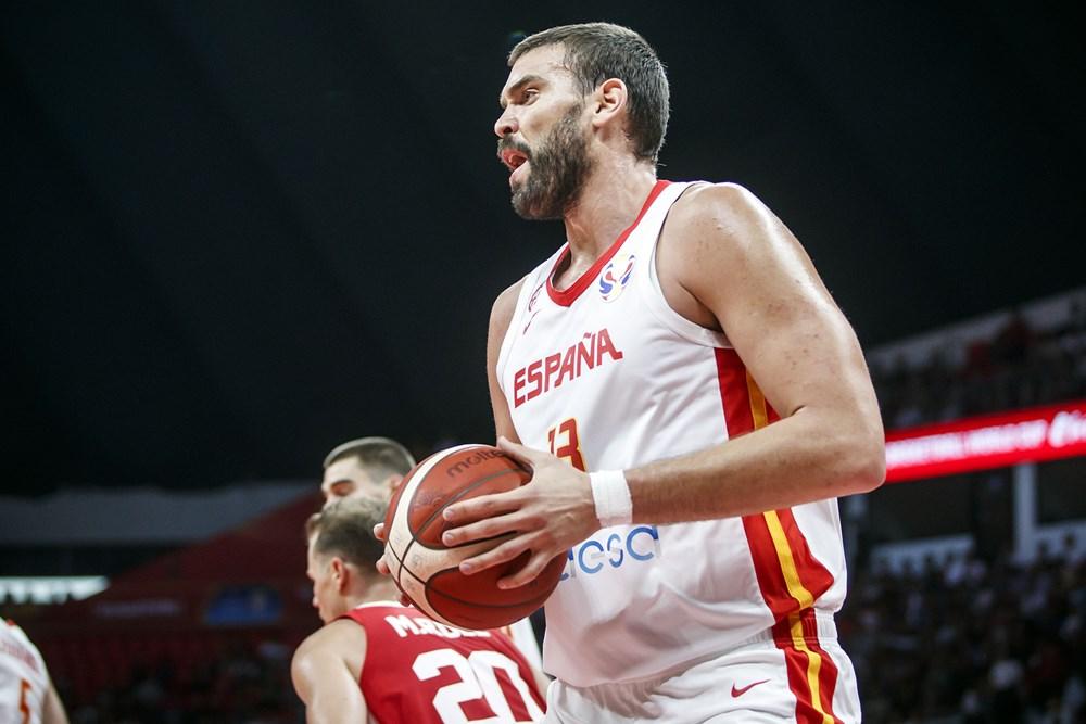 Marc Gasol, jugador de la selección española de baloncesto.