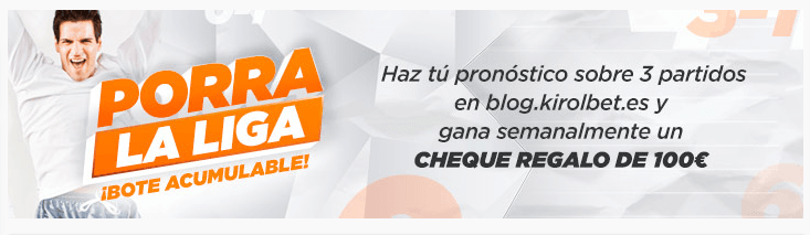 Promociones en Kirolbet